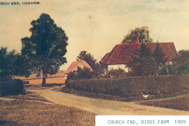 Church End 1909