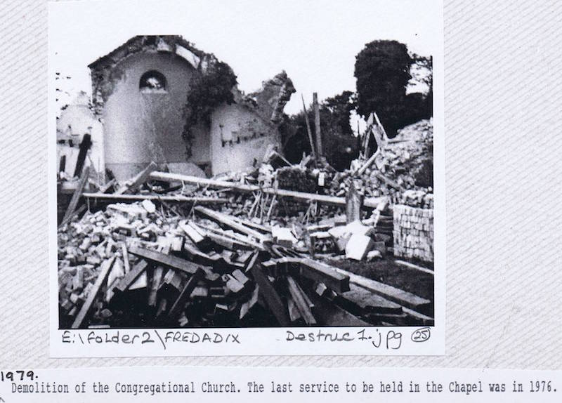 chapel demolition