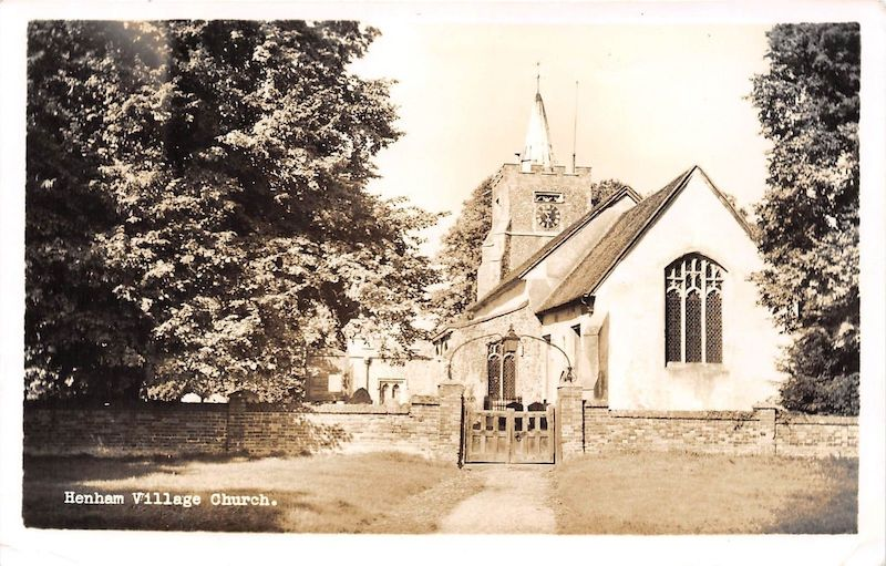 Henham Village Church photograph