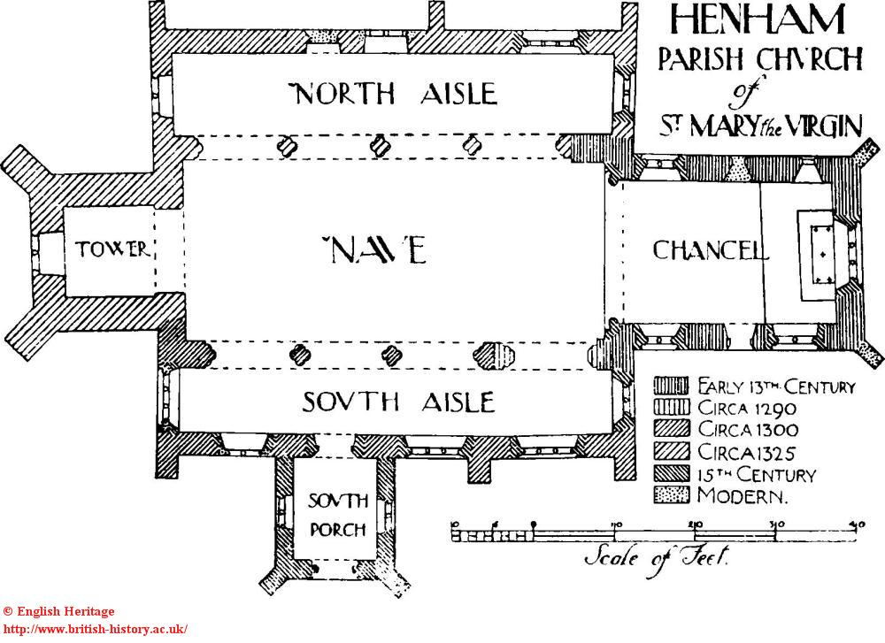 henham church plan