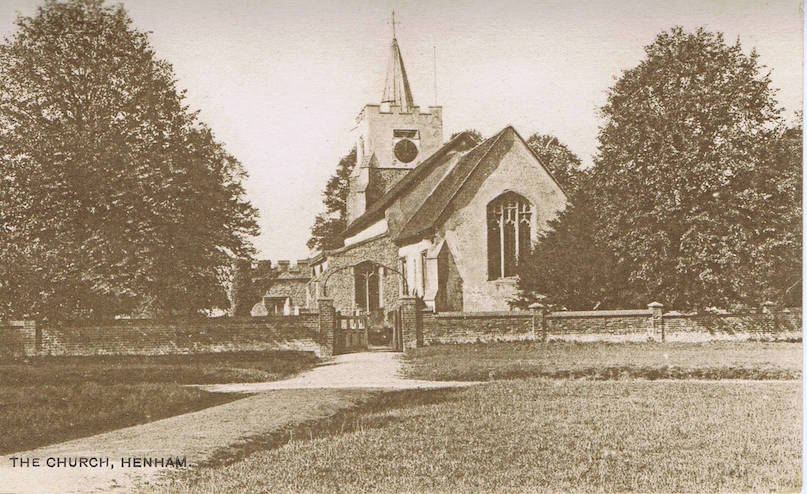 Henham Church 1923