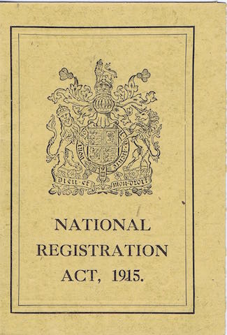 1915 national registration 1