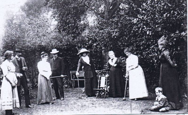 1905 edwardian croquet party forres