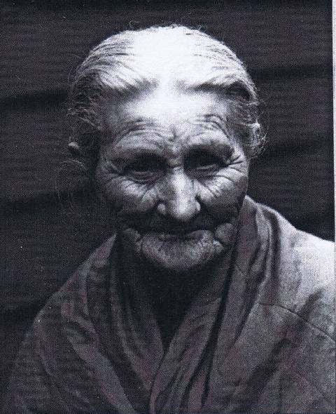 1930 Mrs cCark aged about 87