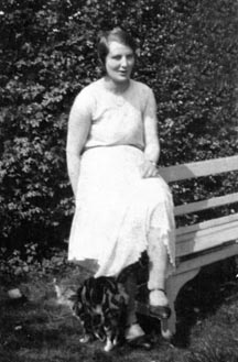 Margaret Goodchild, one of William and Celia's grandchildren