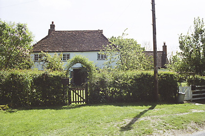 the white cottage