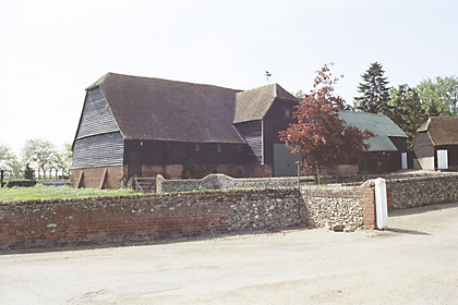 pledgdon hall barn