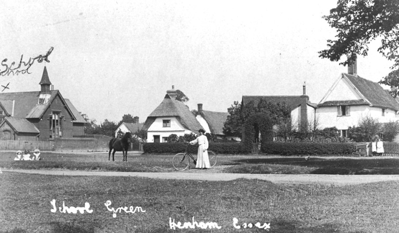 School Green in 1907