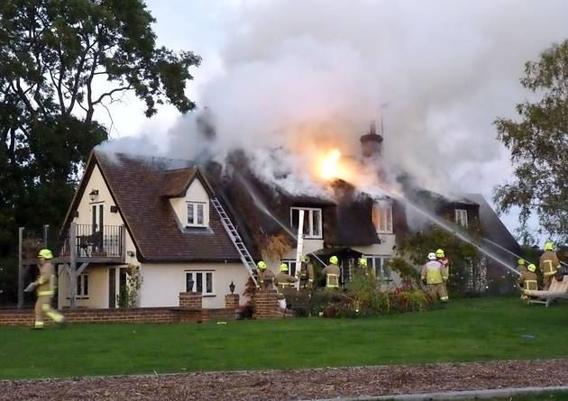 Spring Gate Cottage Fire