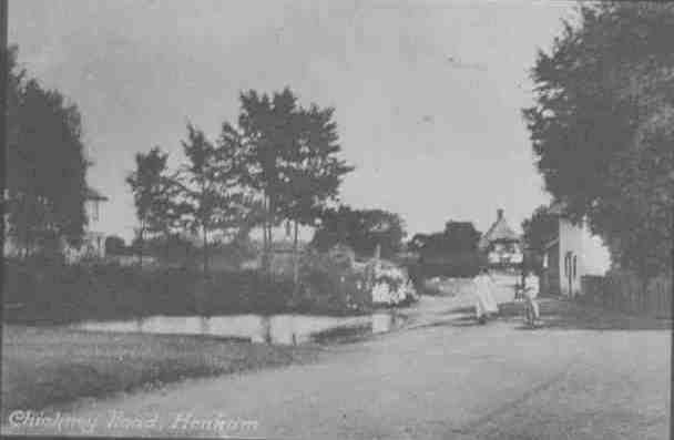 chickney road about 1911