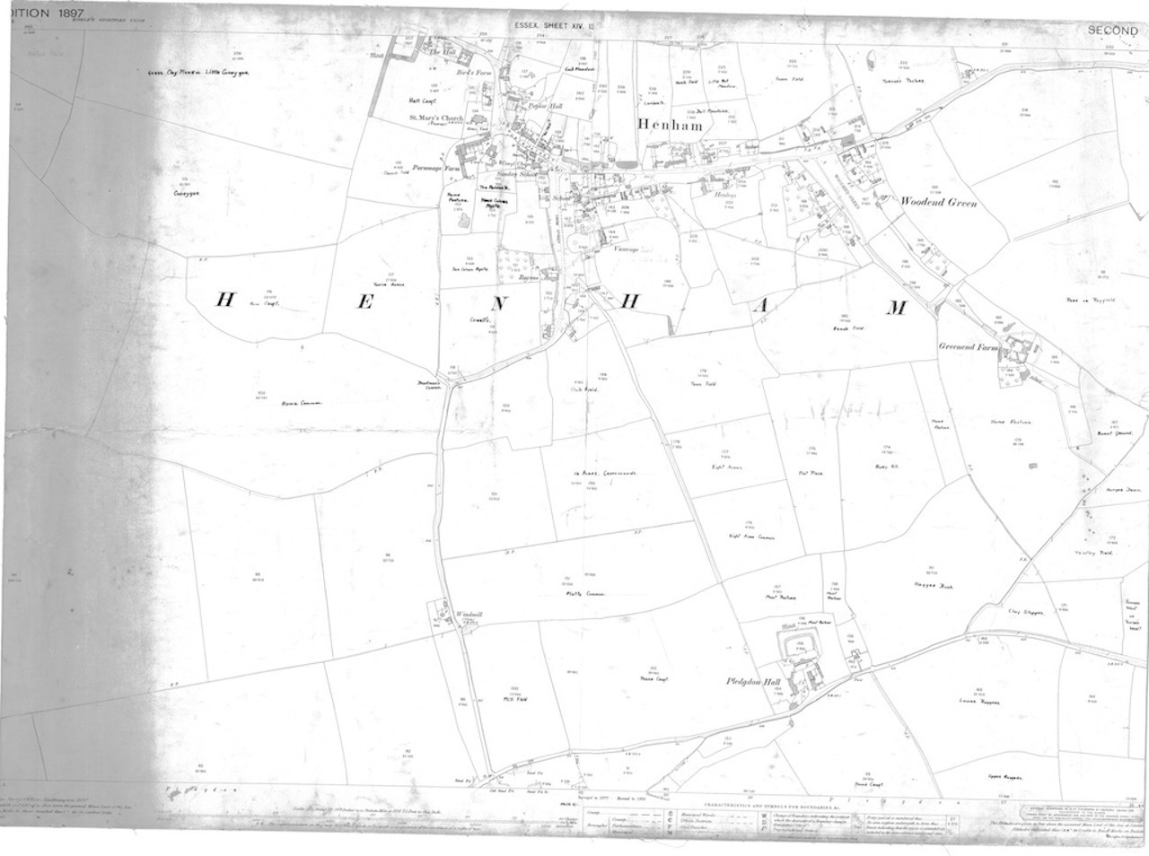 1897 henham map